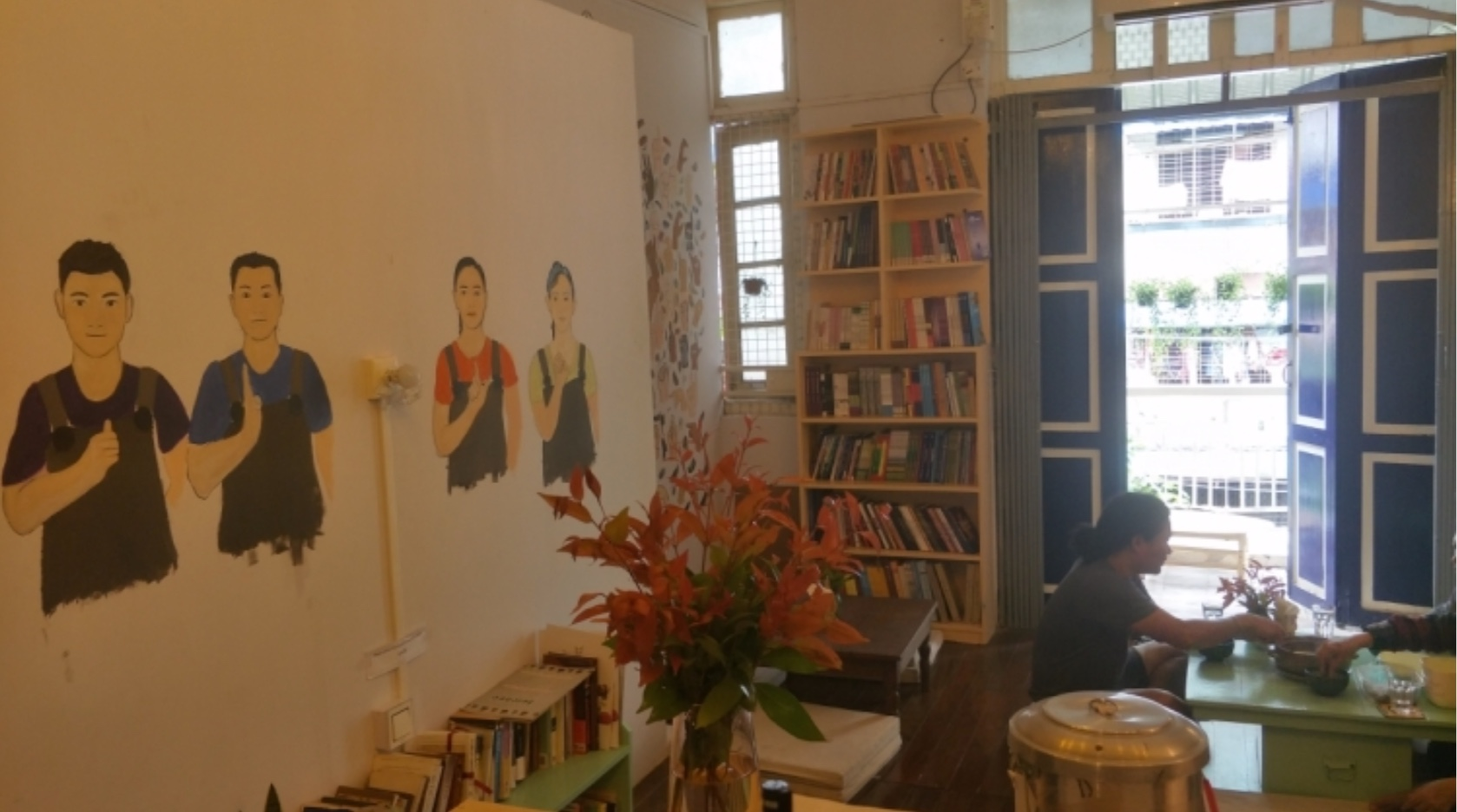 The Able coffee shop in Yangon