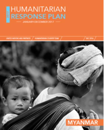 Myanmar Humanitarian Response Plan 2017