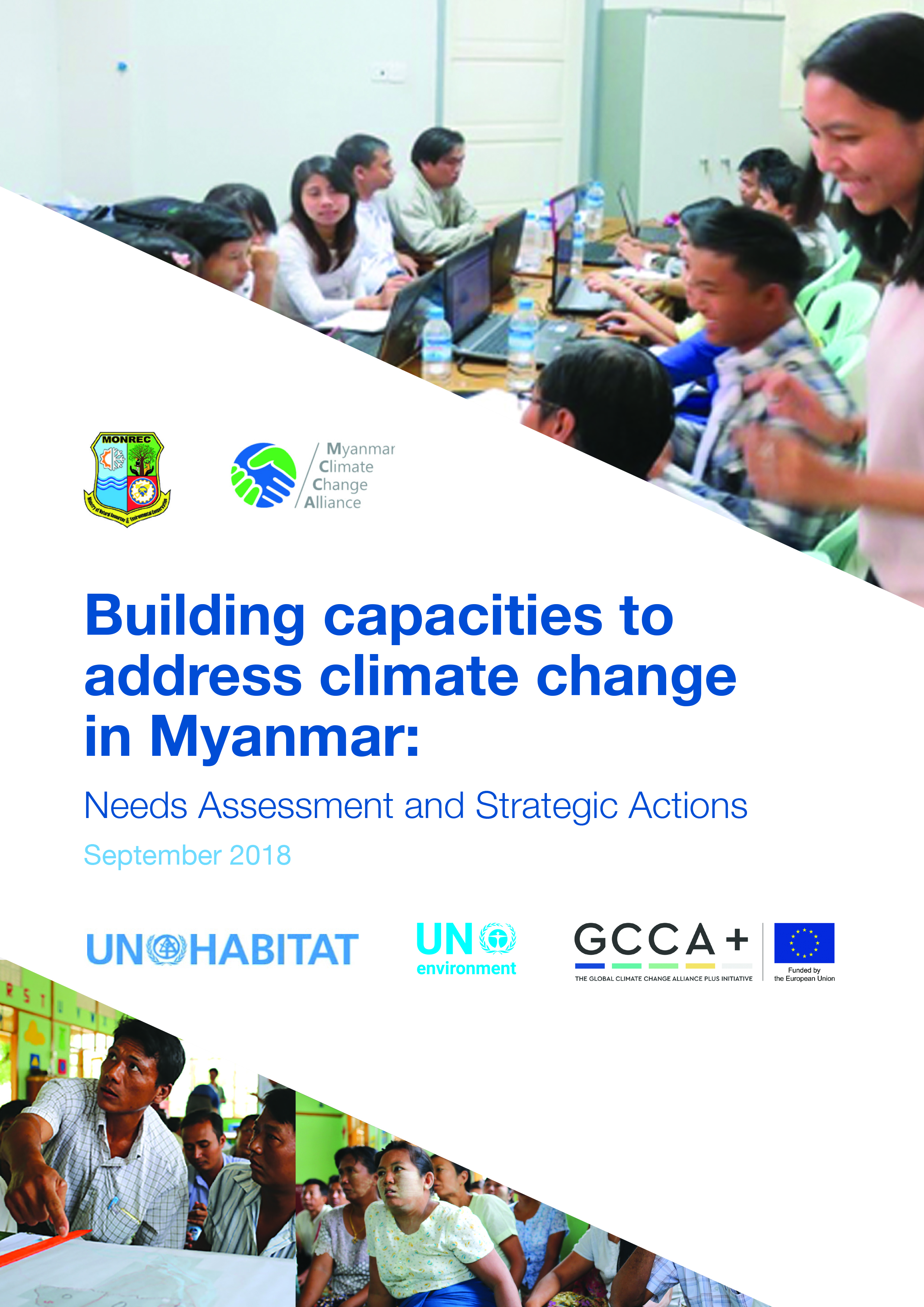 Building capacities to address climate change in Myanmar