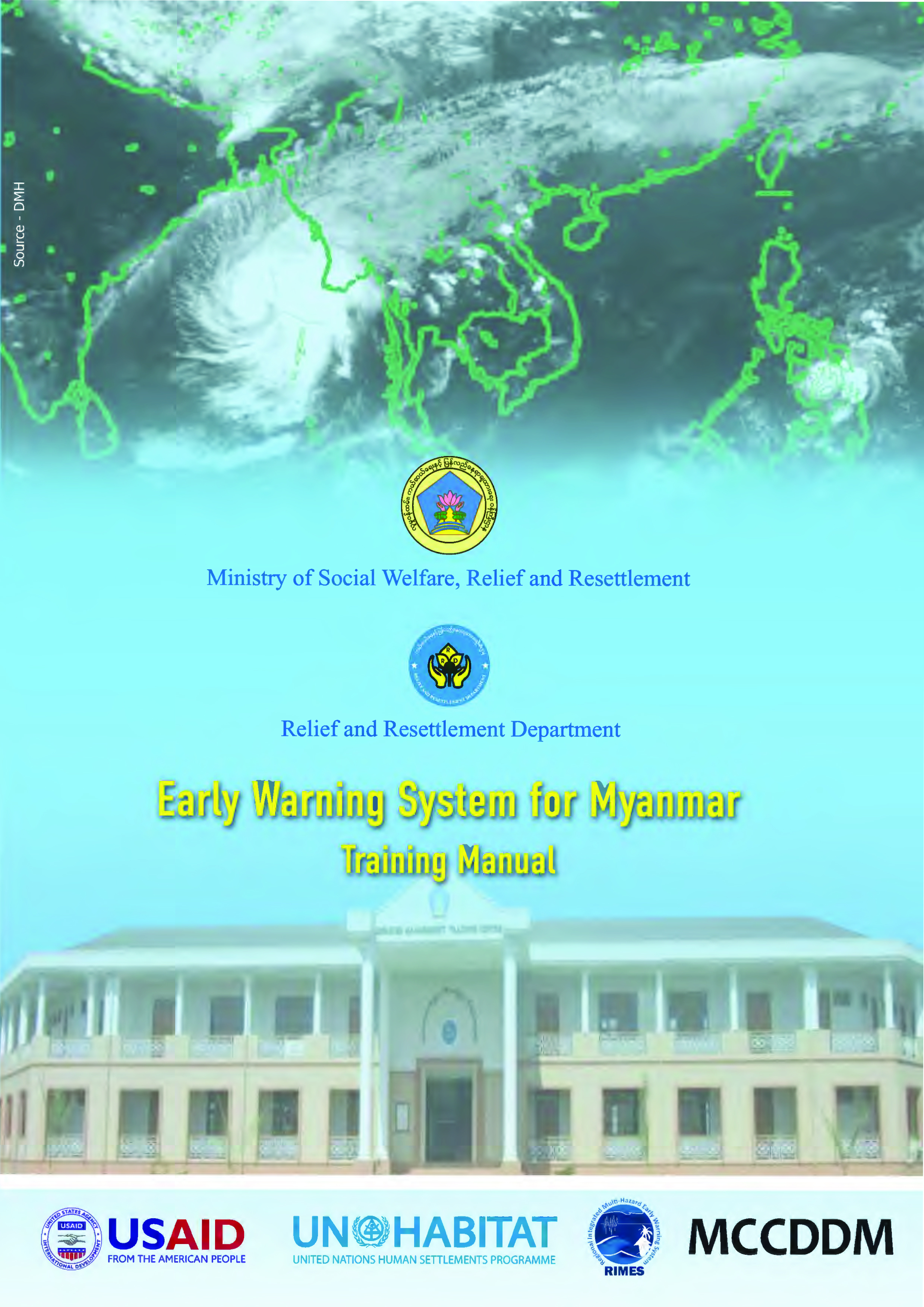 Early Warning System for Myanmar (Training Manual)