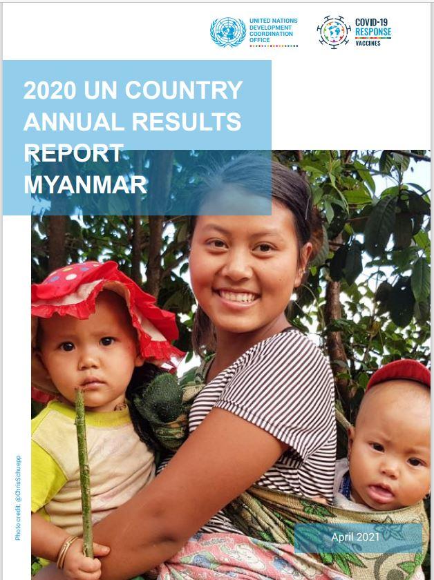 UN Annual Report Myanmar 2020
