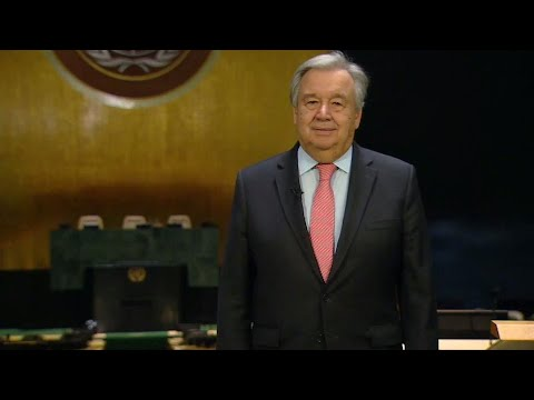 Secretary-General António Guterres video message:  A New Year's Message from the United Nations
