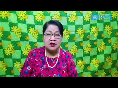 The Future We Want - Shaping our Future Together : Voices of the Seniors - Daw Myint Myint Oo