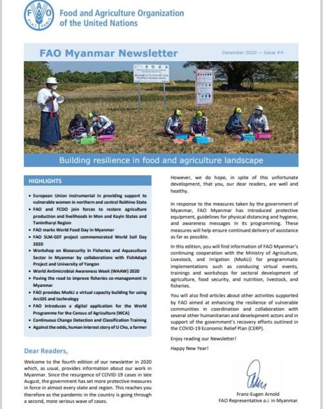 FAO Newsletter